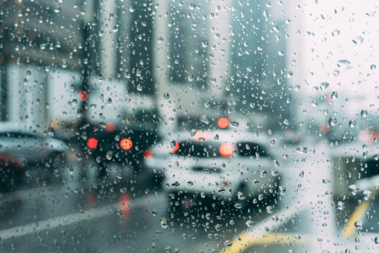 Determining Car Accident Fault in Bad Weather in Peachtree City, Georgia