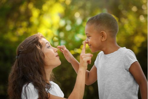 Mother and adopted son, concept of Fayetteville adoption lawyer