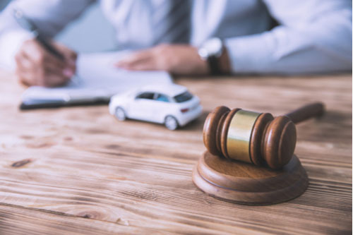 Fayetteville reckless driving accident lawyer filing lawsuit